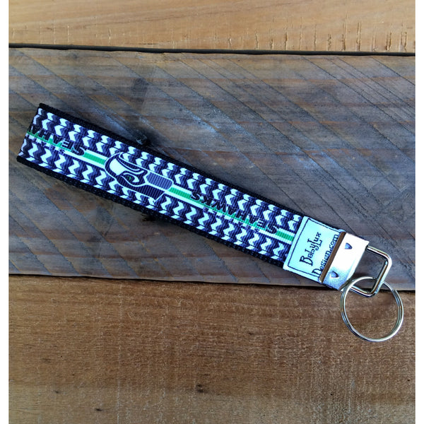 Seahawks Key Fob - BabyLuxDesign