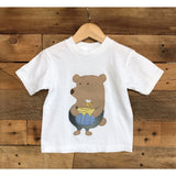 Honey Bear T-Shirt - BabyLuxDesign