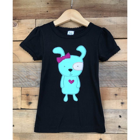 Pip the Pup Girls T-shirt - BabyLuxDesign