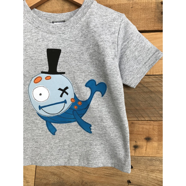 Boys Whale T-Shirt - BabyLuxDesign