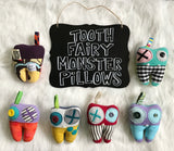 Tooth Fairy Monster Pillows - BabyLuxDesign