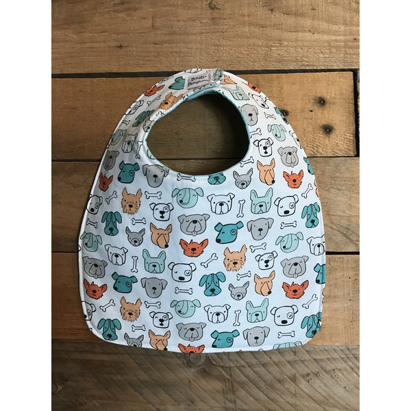 Dog-town Bib & Burp Cloth Set
