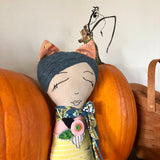 Autumn Girl Dollie - BabyLuxDesign