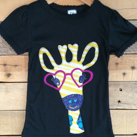 Giraffe Girls T-Shirt - BabyLuxDesign