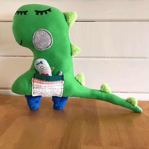 Dinosaur and Pal Plush Toy - BabyLuxDesign