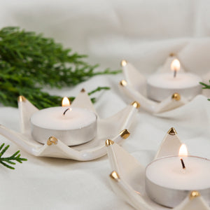 Christmas Starlight Candle Holders