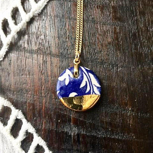 Penny Round Pendants-Necklaces | Sea Soul Studio | Handmade Artisan Ceramics Tasmania