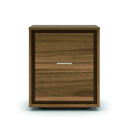 Modern wood night stand