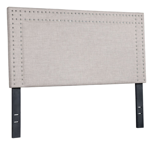 Renaissance Full Headboard Dove Gray