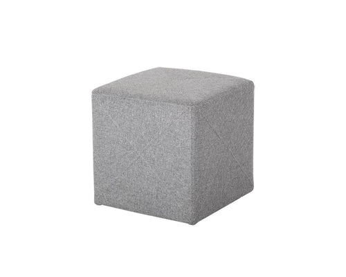 Jackson Ottoman - Light Grey