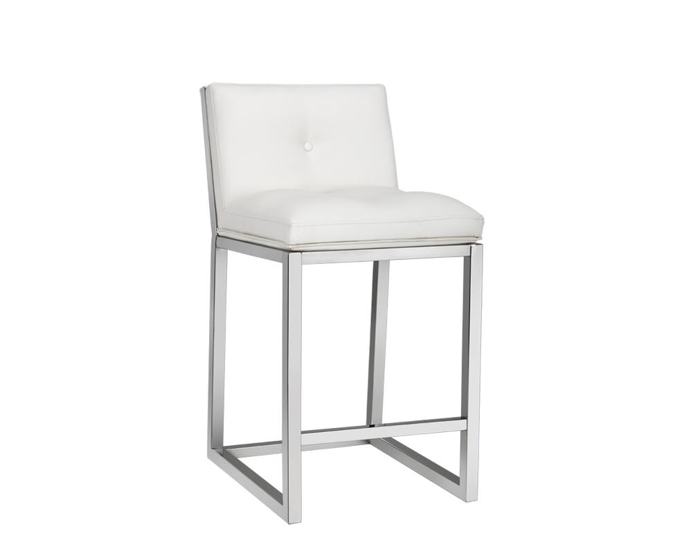 Picture of Alba Counter Stool - White