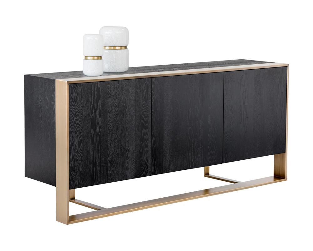 Picture of Dalton Sideboard - Antique Brass/Black