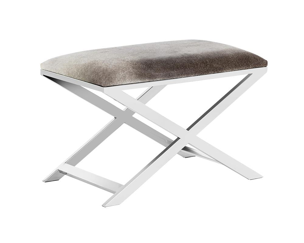 Picture of Sahara Stool - Stainless Steel/Grey