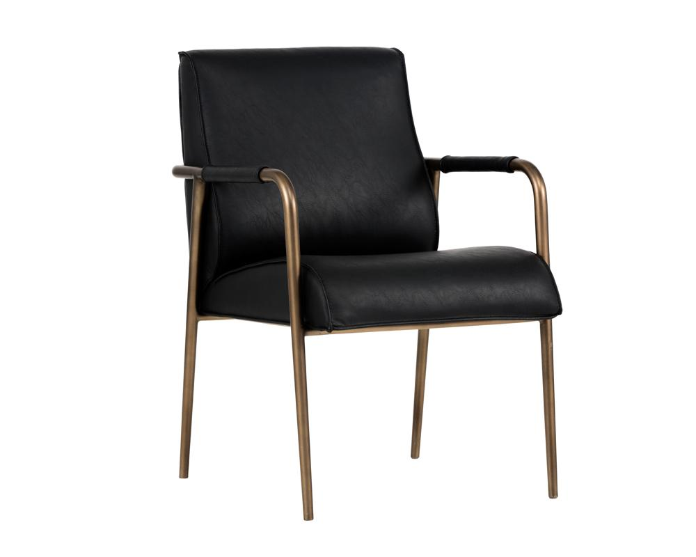 Picture of Dylan Armchair - Vintage Black