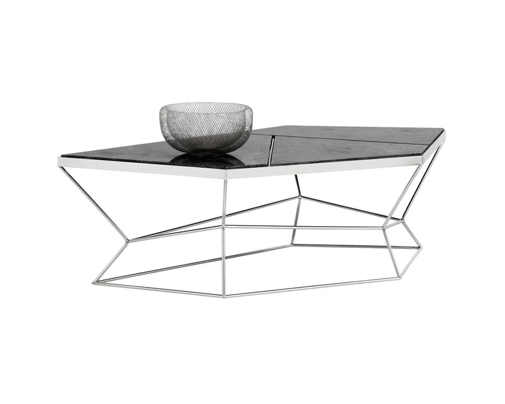 Picture of Nathaniel Coffee Table - Grey Marble