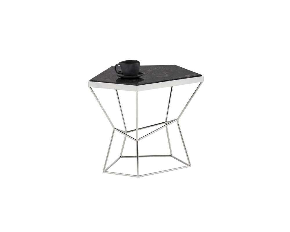 Picture of Nathaniel End Table - Grey Marble
