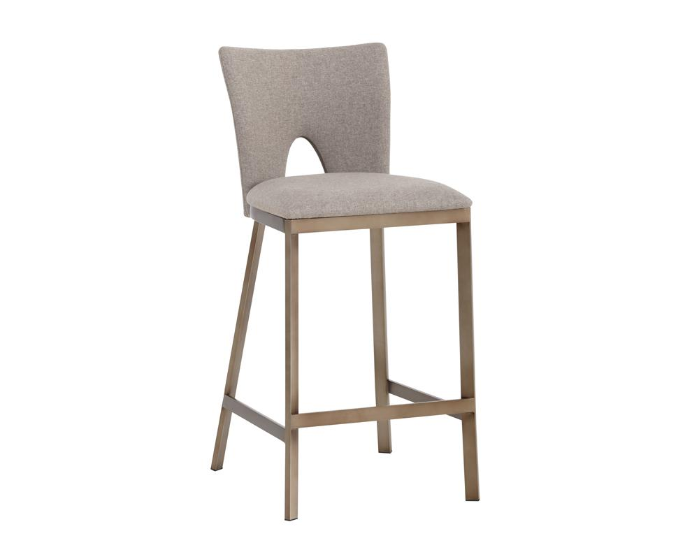 Reid Counter Stool - Biscotti Brown