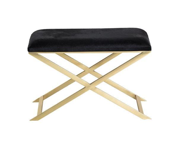 Picture of Sahara Stool - Brass/Black