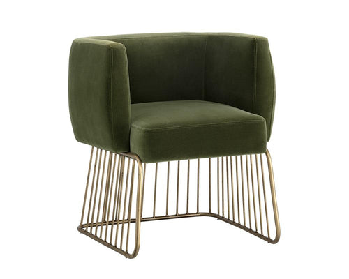 Gala Dining Chair - Forest Green