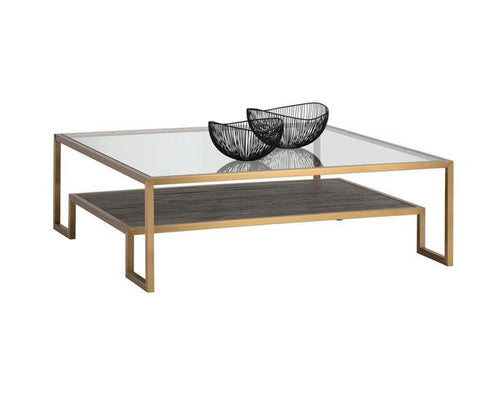 Carver Coffee Table - Square
