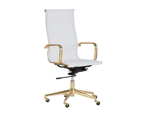 Alexis Office Chair - White