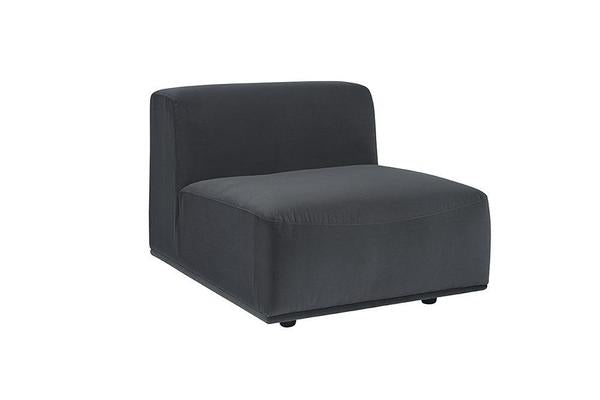 Picture of Darren Sectional Armless Chair - Smokescreen
