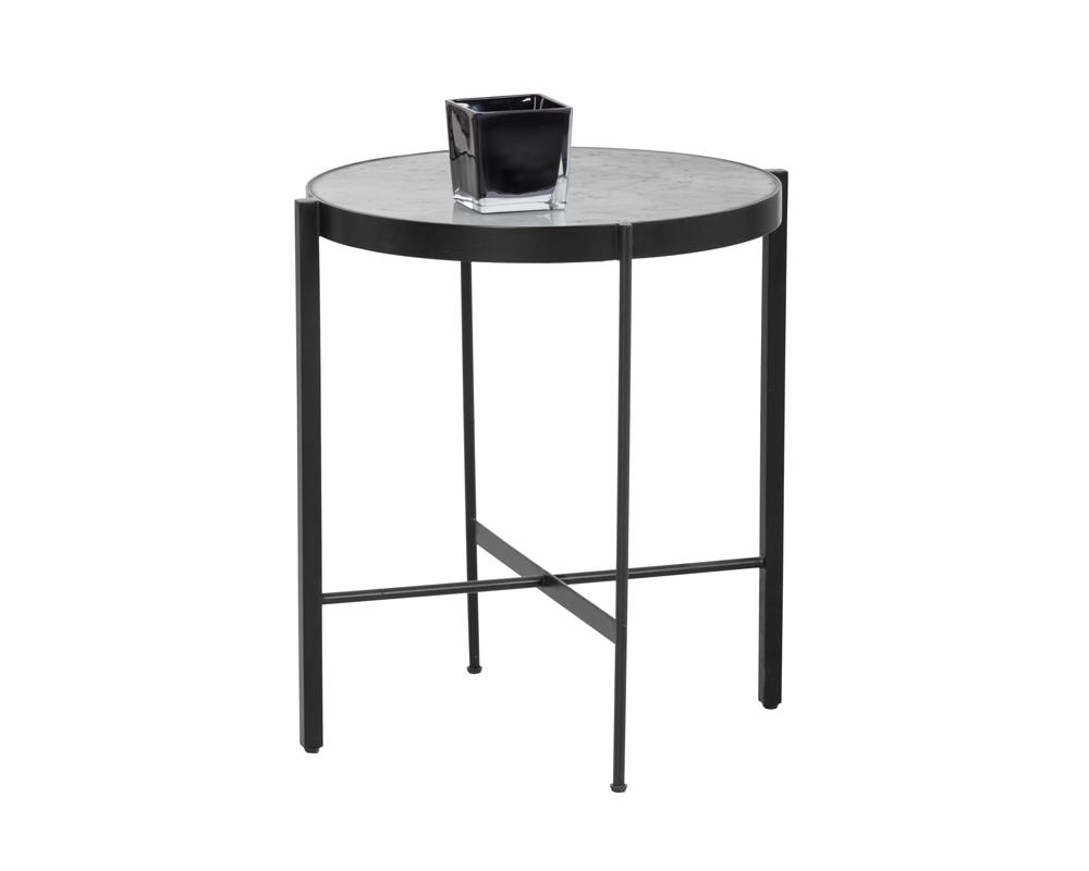 Picture of Willem End Table - White Marble