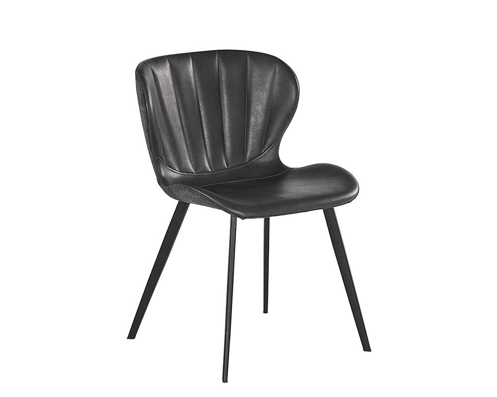 Picture of Arabella Dining Chair - Bravo Portabella / Polo Club Kohl