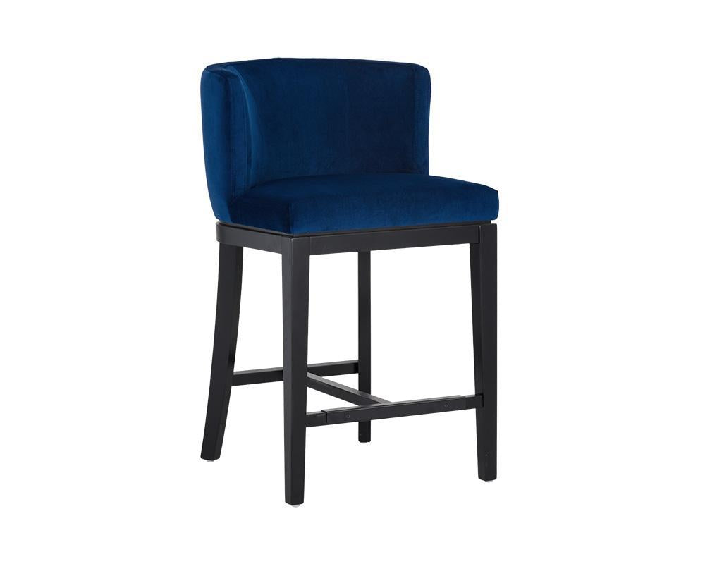 Hayden Counter Stool - Blue Jacket