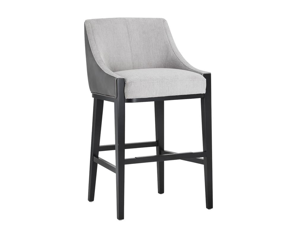 Picture of Aurora Barstool - Polo Club Stone / Overcast Grey