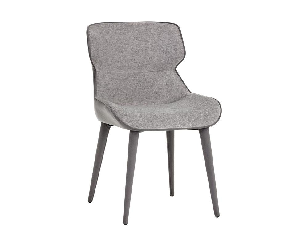 Picture of Jesmond Dining Chair - Polo Club Stone/Antonio Charcoal