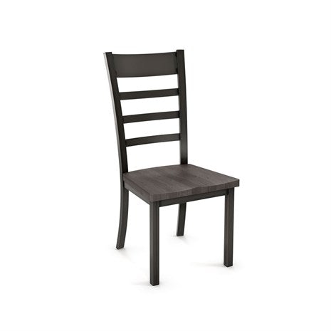 Owen Dining Chair - Metal and Wood