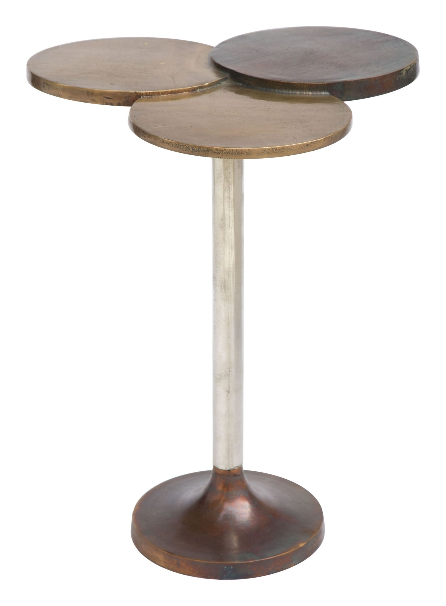Picture of Dundee Accent Table Antique Brass