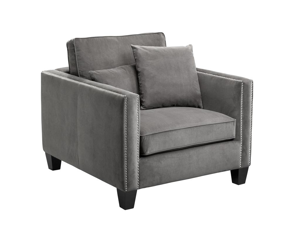 Picture of Cathedral Armchair - Grey
