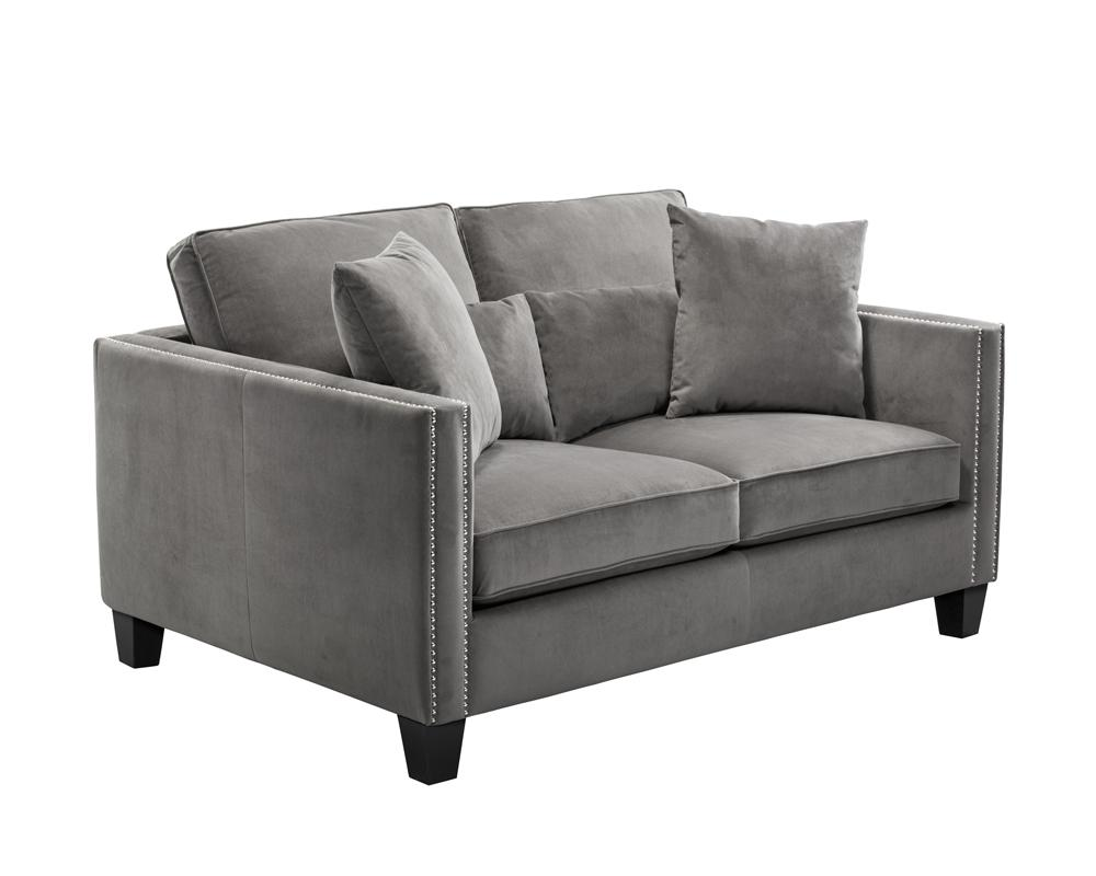Cathedral 2-Seater Sofa - Grey