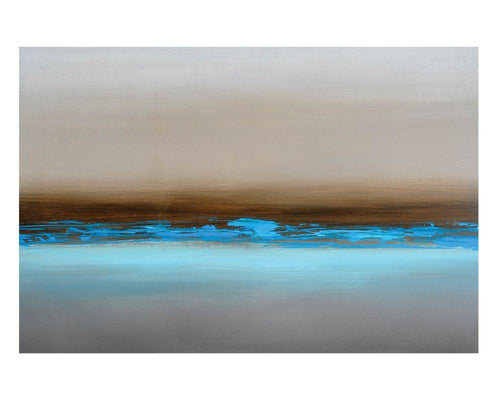 "Blue Mist - 60"" X 40"" - Gallery Wrapped"