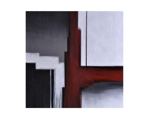 "Marsala in May - 48"" X 48"" - Gallery Wrapped"