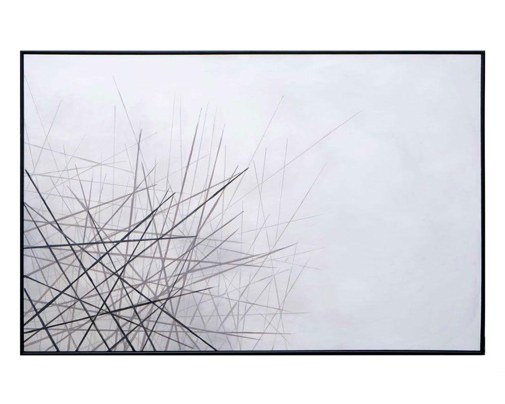 "Picture of Fleeting Wish - 72"" X 48"" - Black Floater Frame"