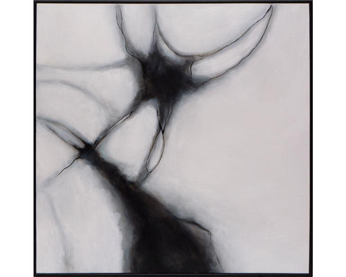 "Mutation - 48"" X 48"" - Black Floater Frame"
