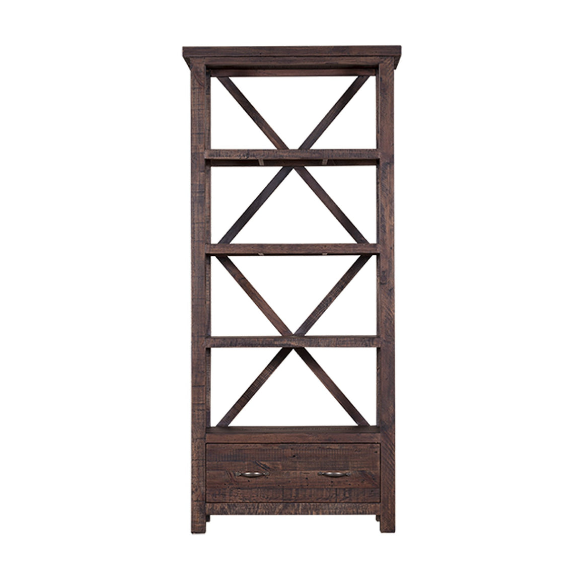 Alfresco Bookcase - Smokey Brown