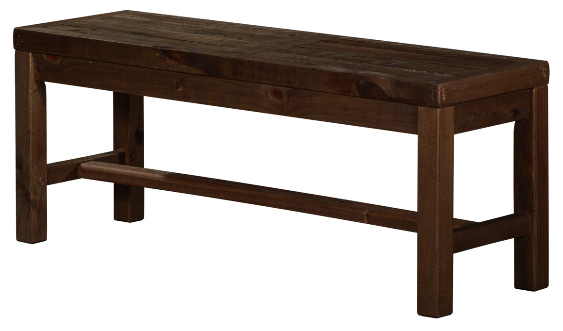Alfresco Bench - Smokey Brown