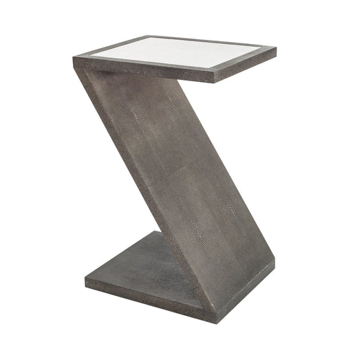 Ambiente Shagreen Z Side Table