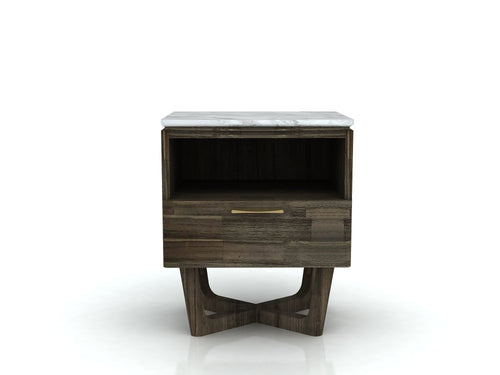 Aura 1 Drw Side Table