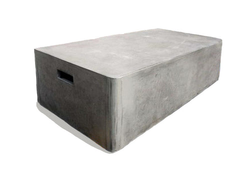 Modern concrete coffee table