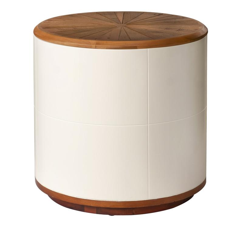 Casablanca Round Side Table/Stool With Storage
