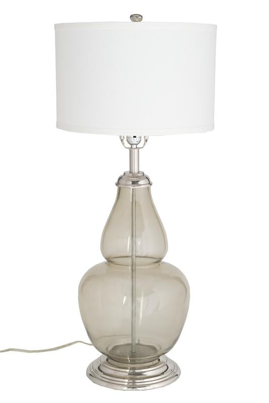 Charm Ebony Table Lamp (tri-light)