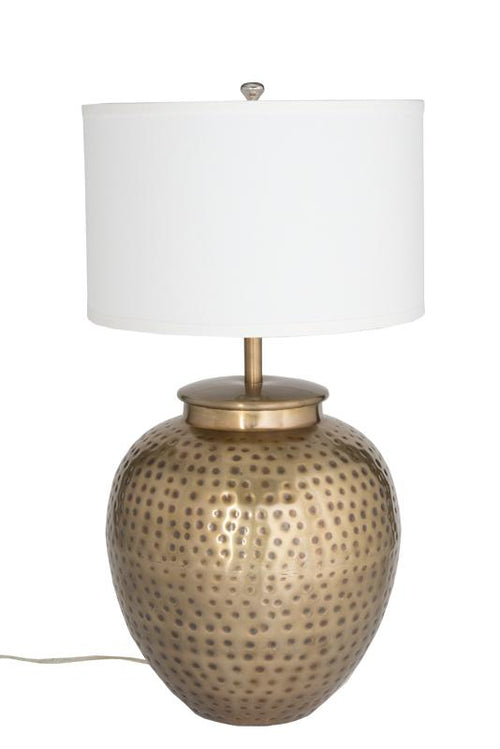 Charm Brass Table Lamp (tri-light)