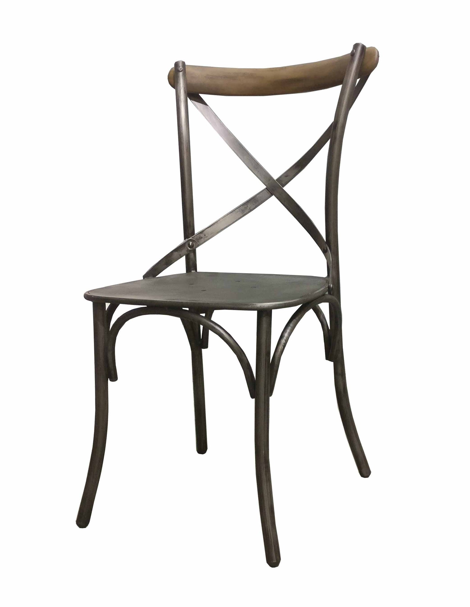 Picture of Metal Crossback Chair (2/box)
