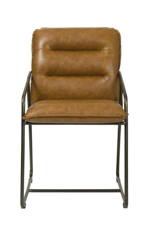 Pullman Side Chair - Tan Brown