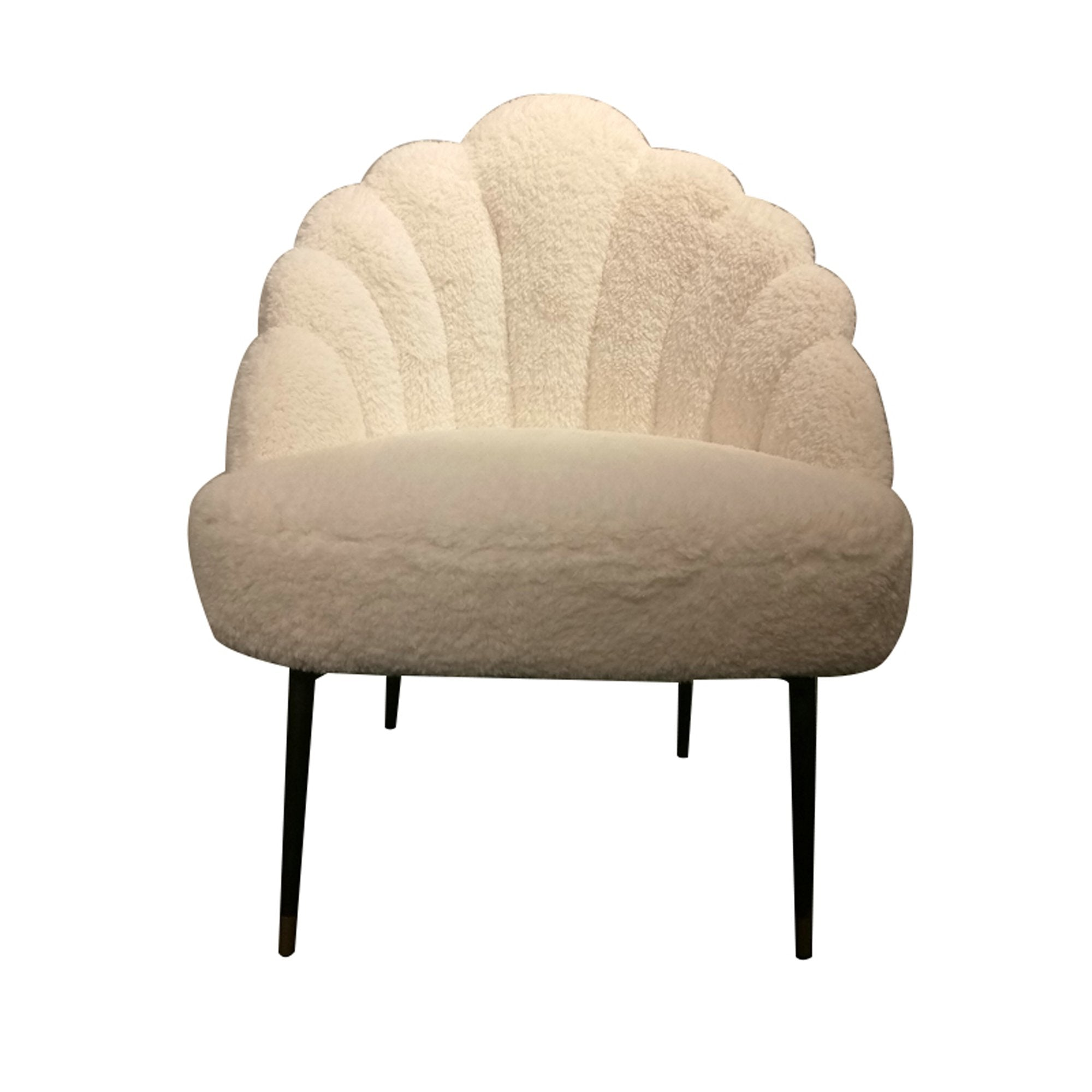 Picture of Duchess  Lounge Chair - Sherpa White